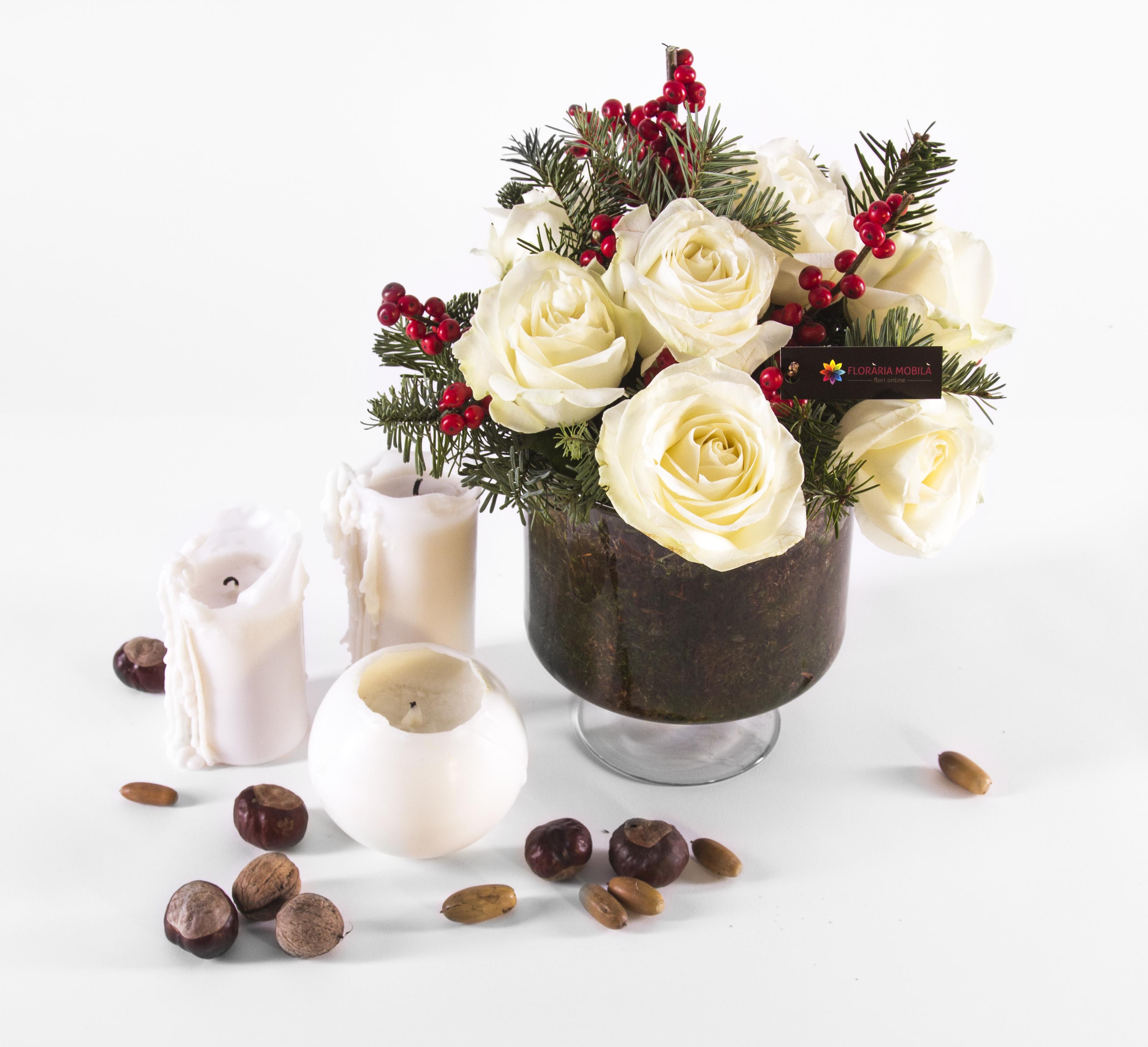 Floraria_Mobila_Aranjament_Craciun_165 lei (1)