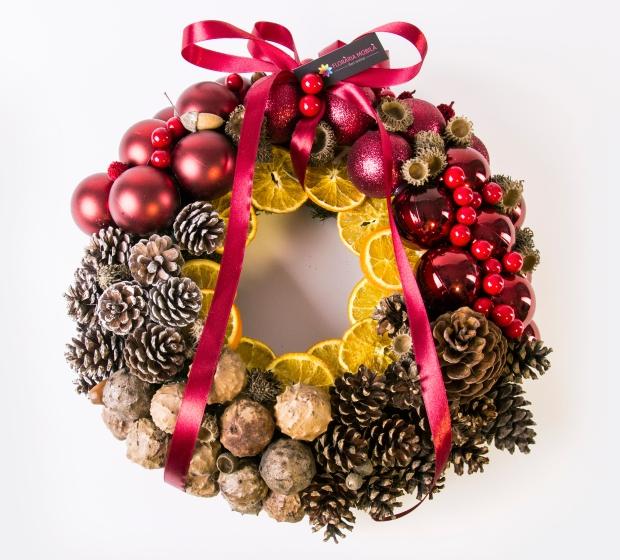 Floraria_Mobila_Coronita_Glam_Christmas_220 lei