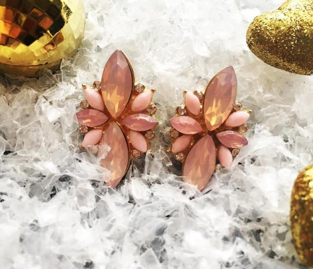 zaful_Cercei_earrings_pink
