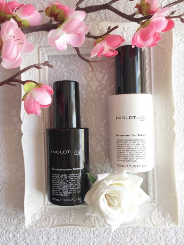 inglot lab day night serum review