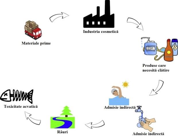 produse cosmetice asupra mediului acvatic