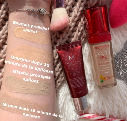 cc cream missha bourjois healthy mix