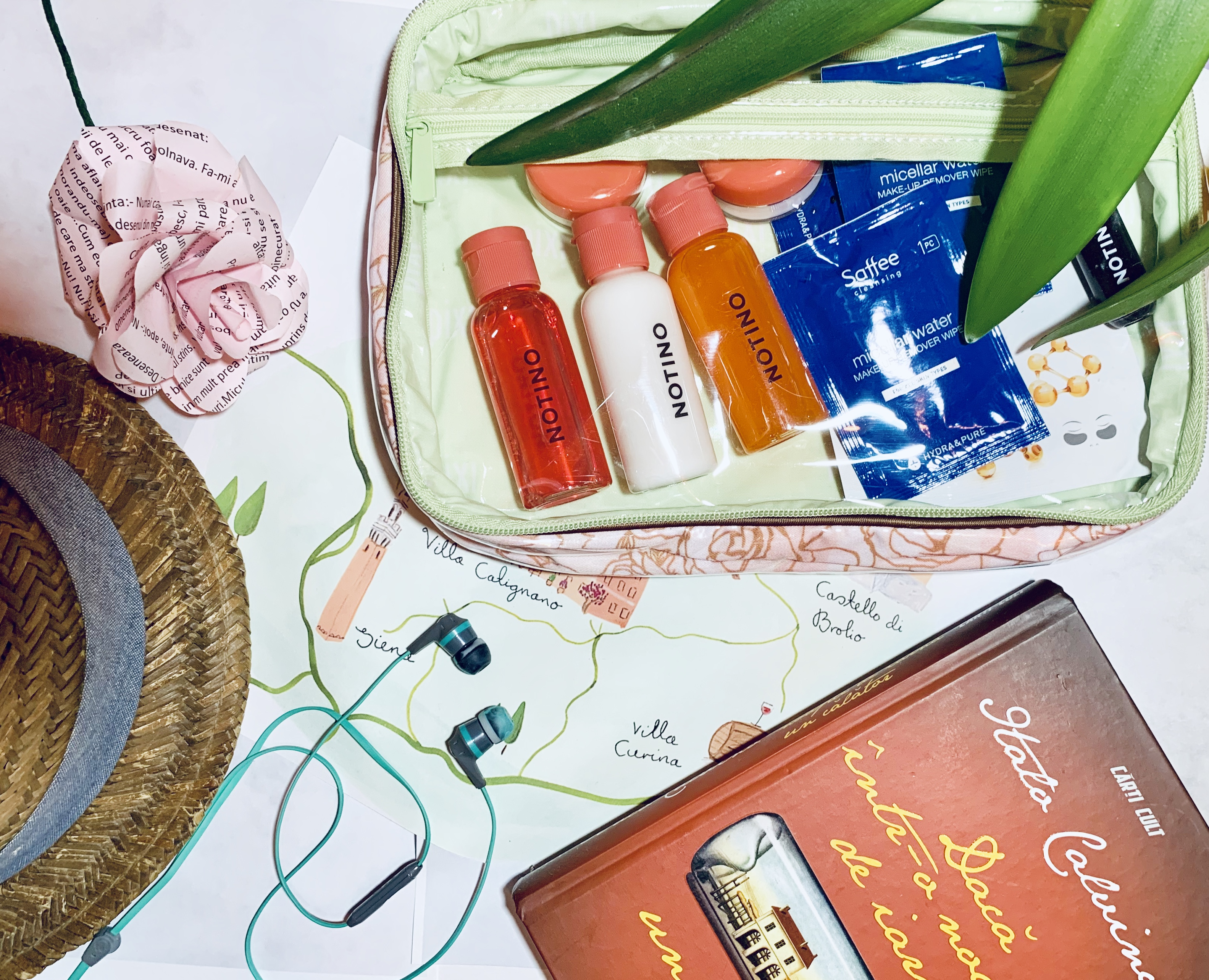 travel kit calatorie recipiente reincarcabile